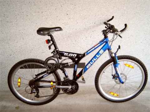 Picture: Bicycle, Type: BULLS / Comp Disc 5.00
